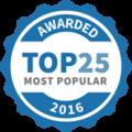 Most Popular 2016